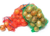 Good Quality BOPP Laminated PP Woven Bags & High Resistant Mesh Drawstring Bags , Mesh Fruit Bags For Packaging on sale