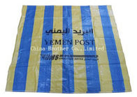 China 50kg Anti Slip Lightweight PE Woven Bag Eco Friendly For Packing Cement factory
