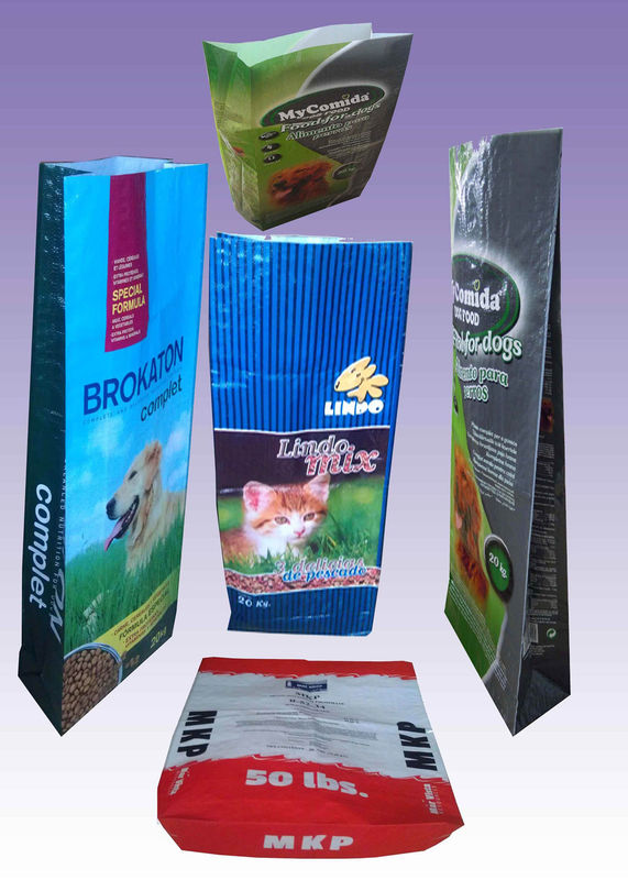 UV Treated Bopp Laminated PP Woven Rice Bag Waterproof With Gravure Printing