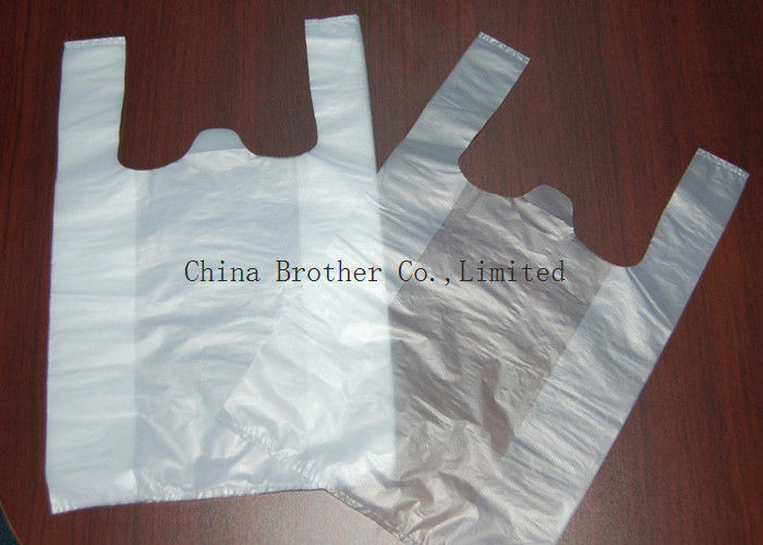 Environmental Protection Custom Printed Plastic Shopping Bags With Handles