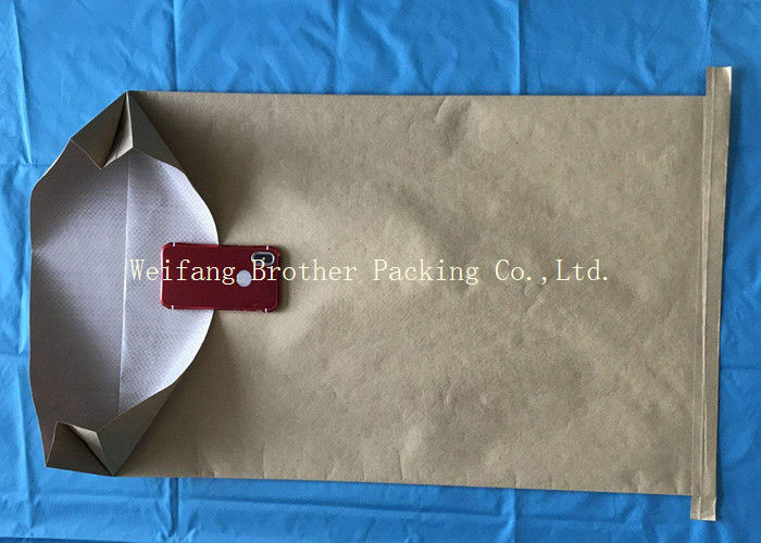 Durable Kraft Paper Plastic Compound PP Woven Bag For Packing , Fully Printed