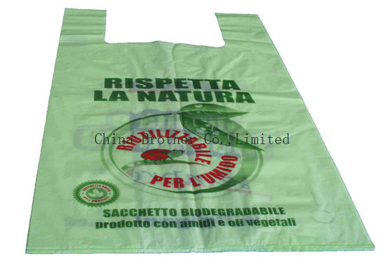 China Shopping Custom Printed Plastic Bags , Clothes Packaging Plastic Packing Bags factory