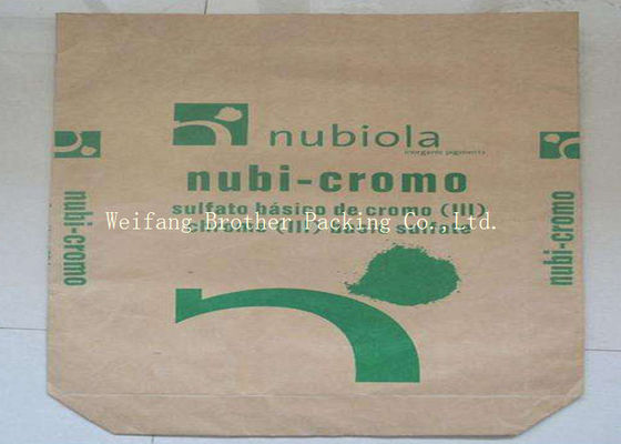 Recyclable Kraft Paper Charcoal Packaging Bags For All Natural Hardwood Briquets