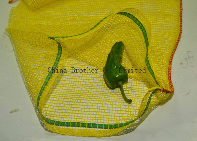 Plastic Woven Industrial Mesh Bags Firewood Sacks Recyclable Large Capacity