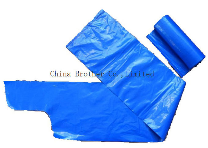 Heavy Duty Plastic Shopping Bags With Handles , Custom Plastic Grocery Bags