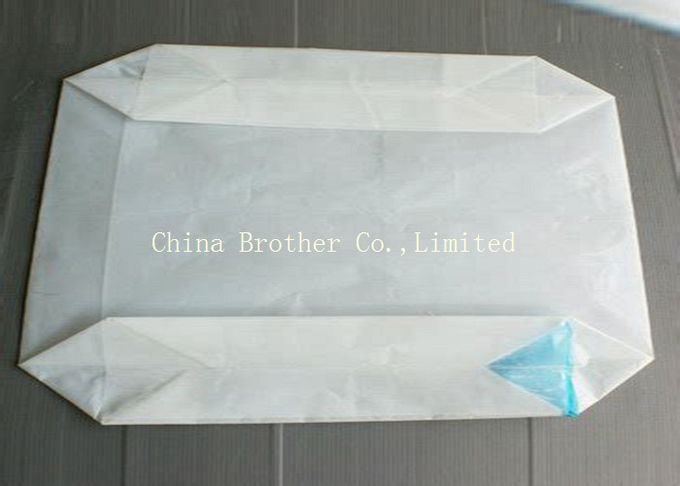 Plain Surface Plastic Valve Bags Long Valve Recyclable For Flour Packaging