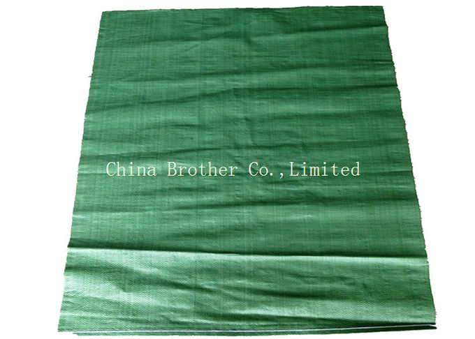Laminated White Flour PP Woven Sack Bags Non - Delaminating Packaging