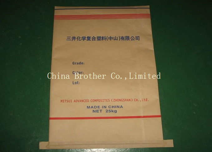 Durable 25kg Multiwall Cement Paper Bag Non - Leakage High Load Bearing Strength