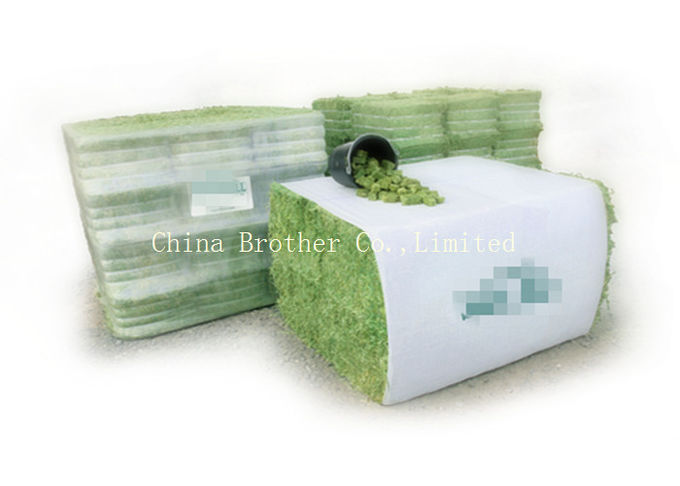 PP / HDPE Woven Hay Bale Sleeves Fabric Gravure Printing For Building