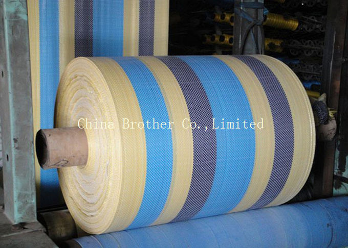 Green Polypropylene Fabric Rolls High Tensile Strength