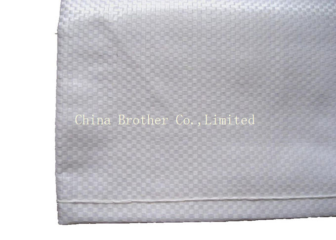 Biodegradable PE Woven Bag For Packaging Flour / Fertilizer 10 Kg 50 Kg