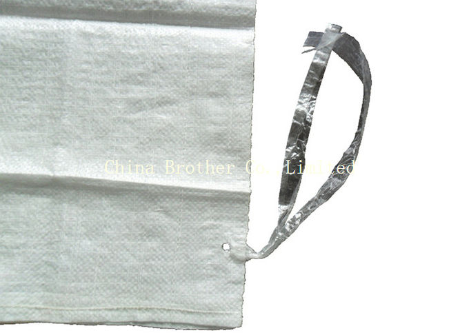 Cement / Fertilizer Packing PE Woven Bag Waterproof With 55gsm - 170gsm
