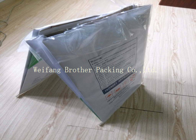 Outdoor Leaf And Lawn Garden Refuse Bags , Trash Paper Bags Customized